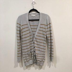 Madewell Striped Cardigan